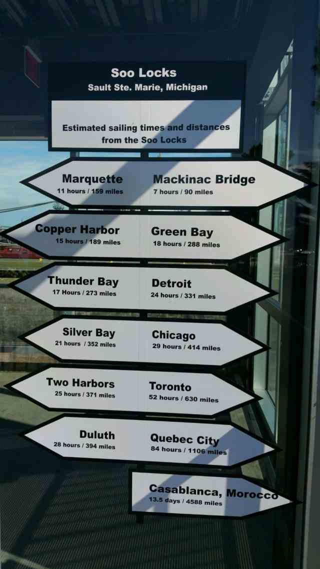 Map post - #MittenTrip - Sault Ste Marie - The Awesome Mitten