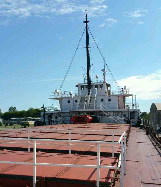 Valley Forge Freighter Museum - #MittenTrip - Sault Ste Marie - The Awesome Mitten