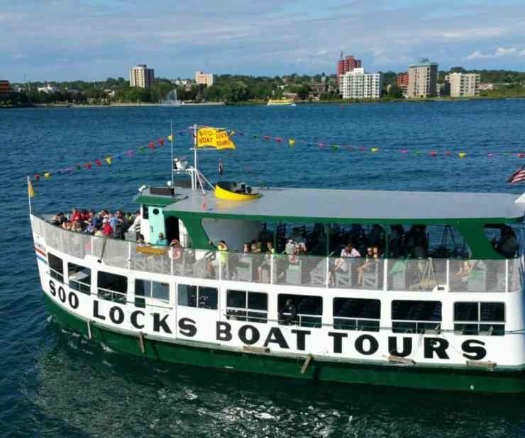 Soo Locks Boat Tour - #MittenTrip - Sault Ste Marie - The Awesome Mitten