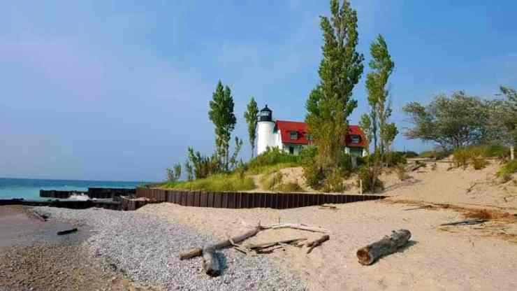 A Summer Lake Michigan Road Trip, Ludington to Frankfort - The Awesome Mitten