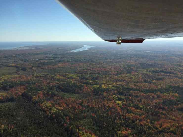 Aerial tour of Alpena with Aviation North. Photo by Joel Heckaman - Awesome Mitten #MittenTrip
