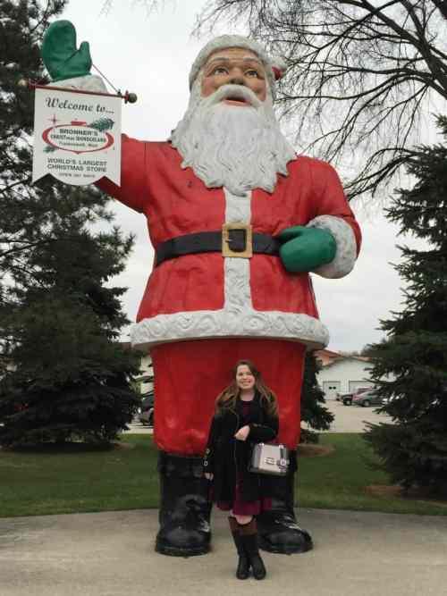 Bronner's Santa
