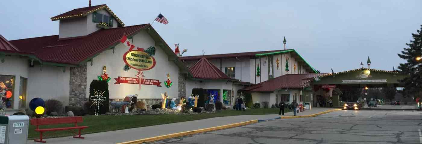 Bronner's: The Most Magical Place in Michigan