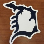 Michigan D Decal