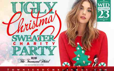 Rock your Ugliest Sweater for a Good Cause this Holiday Season