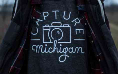 "Win a ""Capture Michigan"" Shirt"