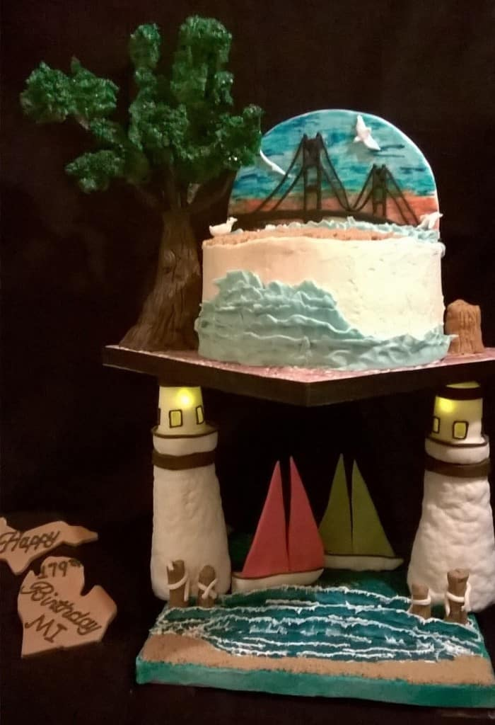 Indulge A Little - Michigan Birthday Bakeoff - The Awesome Mitten