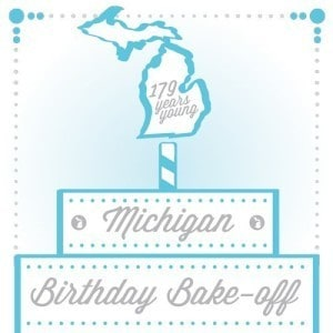 Michigan Birthday Bake-Off 2016 - The Awesome Mitten