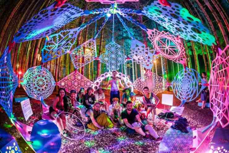 Electric Forest in Rothbury is an experience unlike any other music festival. Photo courtesy of Fest300