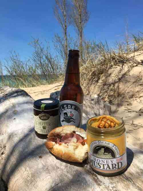 Michigan-Made Picnic at Point Betsie Lighthouse, Frankfort