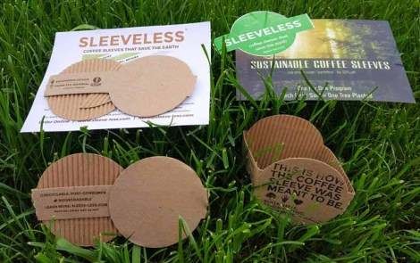 Meet Sustainable Coffee Sleeves by Sleeveless