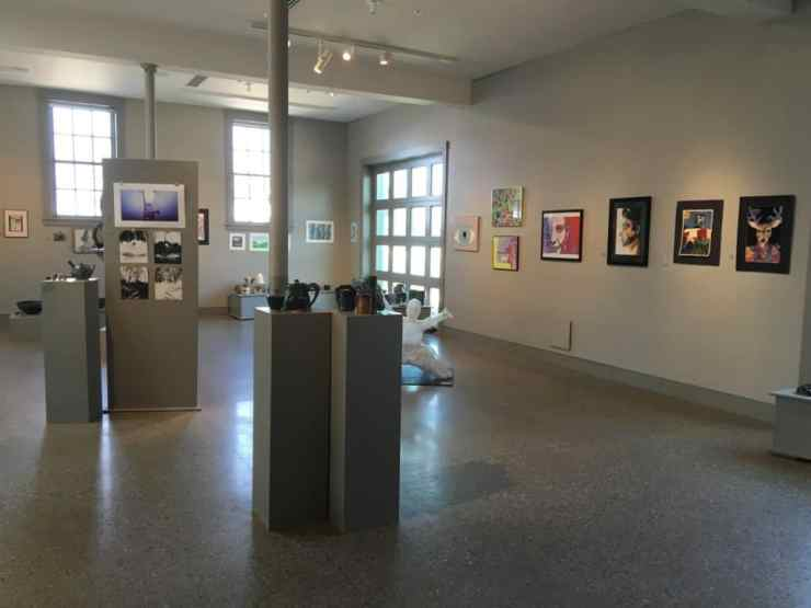 Main Gallery | Oliver Art Center. Photo Courtesy Erin Bernhard