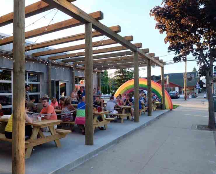 Why not get a Soft Parade right from its source? Short's Brewing Company in Bellaire recently added a patio to take the live music and fun outdoors. Photo courtesy of Short's Brewing Company