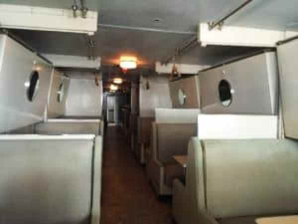 One of the Pullman rows in the Club Lounge. Photo courtesy of Jennifer Polasek.