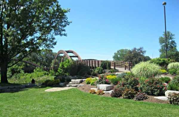 The Tridge is a community landmark in Midland. Photo Courtesy of Margaret Clegg