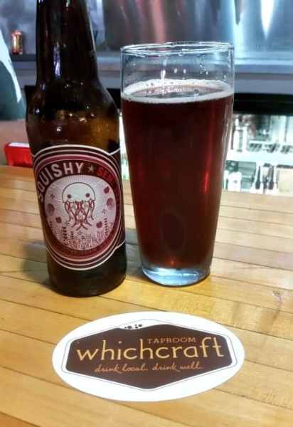 WhichCraft Taproom was a great place to try my first Starcut Cider. Photo Courtesy of Margaret Clegg