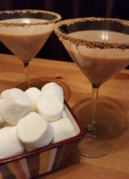 Smores martinis are a grown-up way to enjoy a childhood treat. Photo courtesy of Jackie Mitchell.