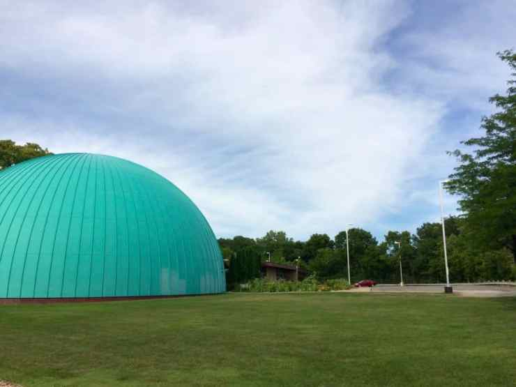 Longway Planetarium. Photo courtesy of Joanna Dueweke.