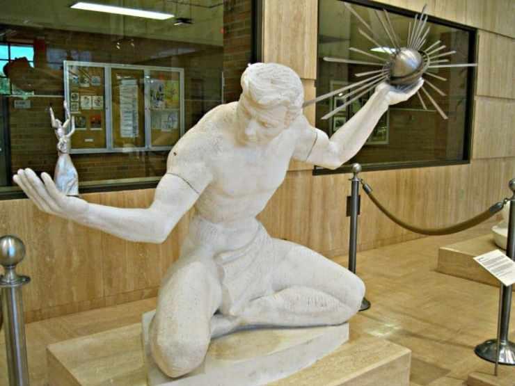 Marshall Fredericks Sculpture Museum Spirit of Detroit