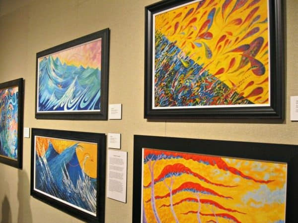 The Midland Center for the Arts features work from local, national and global artists. Photo Courtesty of Margaret Clegg