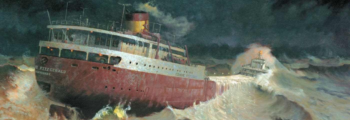 Gales Of November Bring Shipwrecks To The Great Lakes