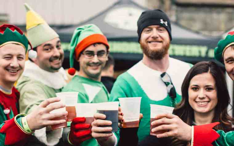 The Awesome Mitten - Dark Horse Brewing Company Annual 4 Elf Party