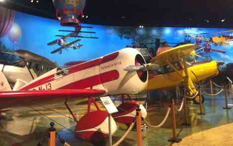 Flying Through Aviation History At Air Zoo In Kalamazoo