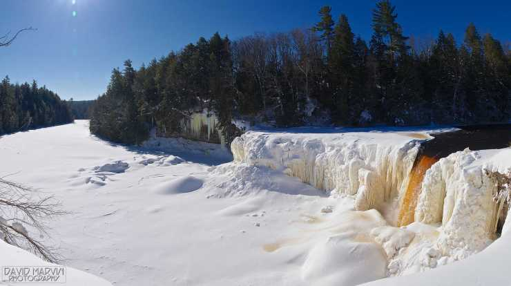 Tahquamenon Falls. Photo courtesy of Flickr user daveumich