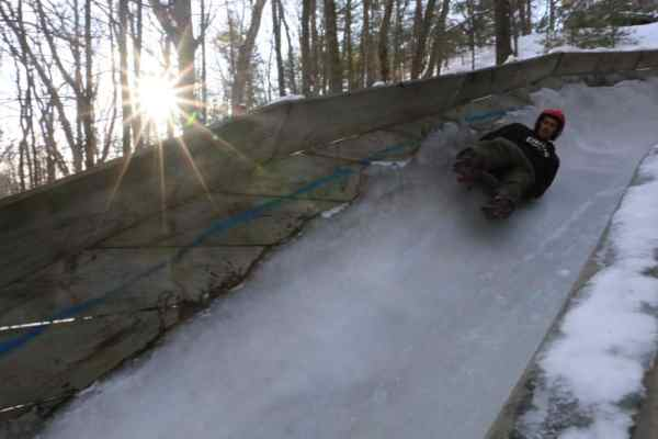 Muskegon Luge Track - The Awesome Mitten