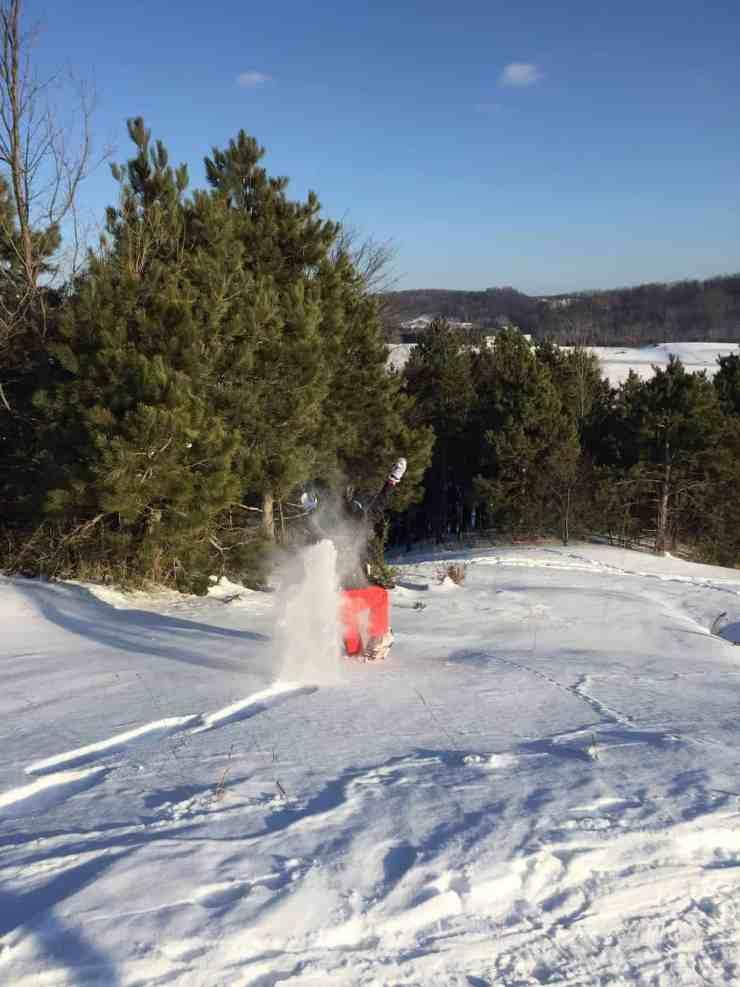We like to fully embrace winter around here. Photo courtesy of Joseph Symons