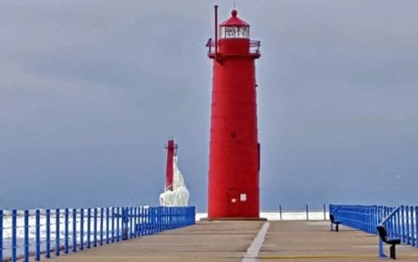 Michigan Lighthouses Look Better In Winter