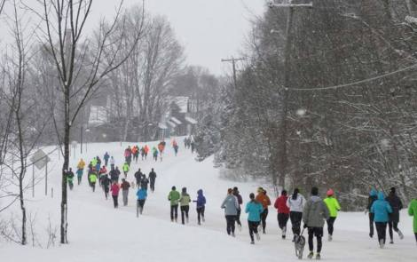 Inside Northern Michigan's BEST Winter 5k