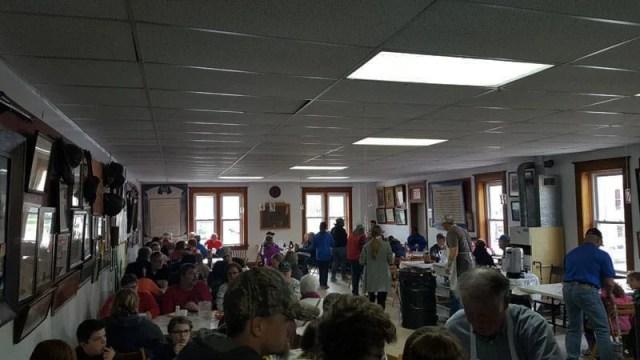 Vermontville, Michigan pancake fundraiser - American Legion