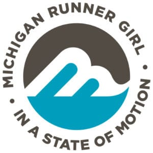 Michigan Runner Girl podcast logo - The Awesome Mitten