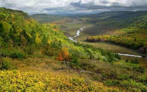 Michigan's Hidden Mountain Range