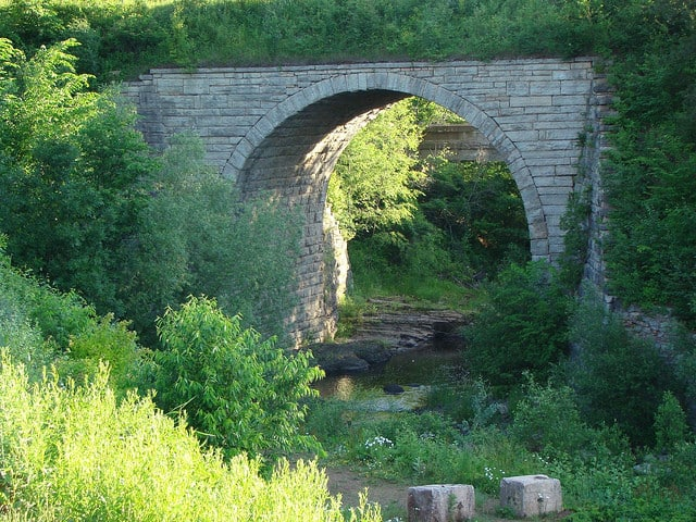 Keystone Bridge - The Awesome Mitten