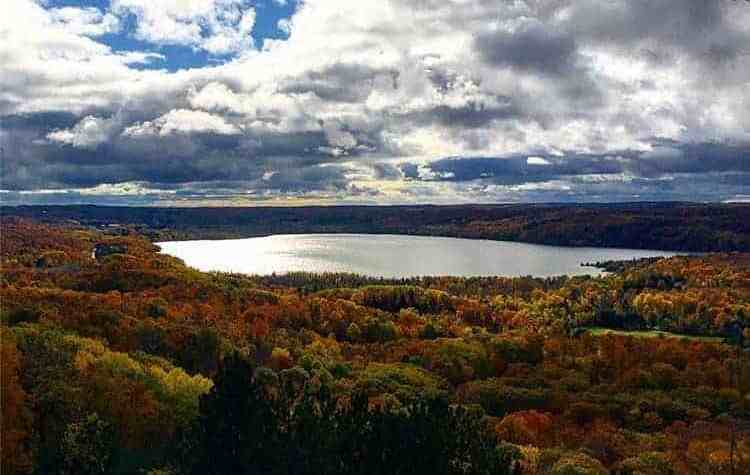 Your Guide To A Sleeping Bear Dunes National Lakeshore Fall Color Tour - The Awesome Mitten