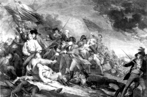 Battle of Bunker Hill Painting