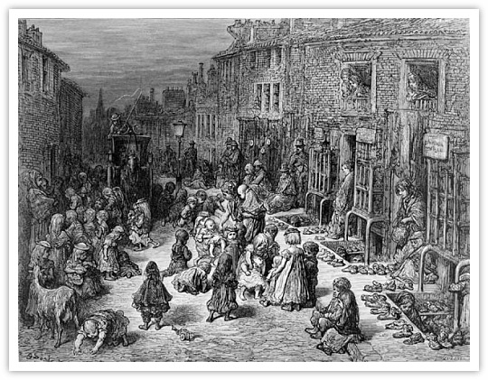 Slums of England in the 1840s  Sheffield