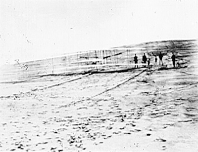 Wright Brothers at Kitty Hawk