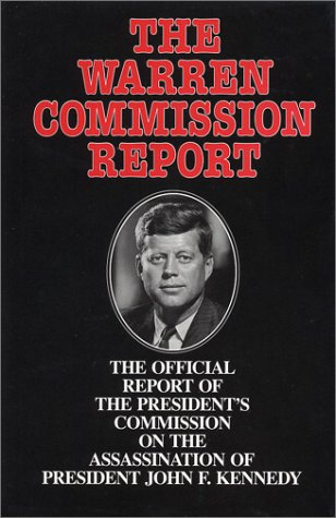 Cover  Warren Commission Report