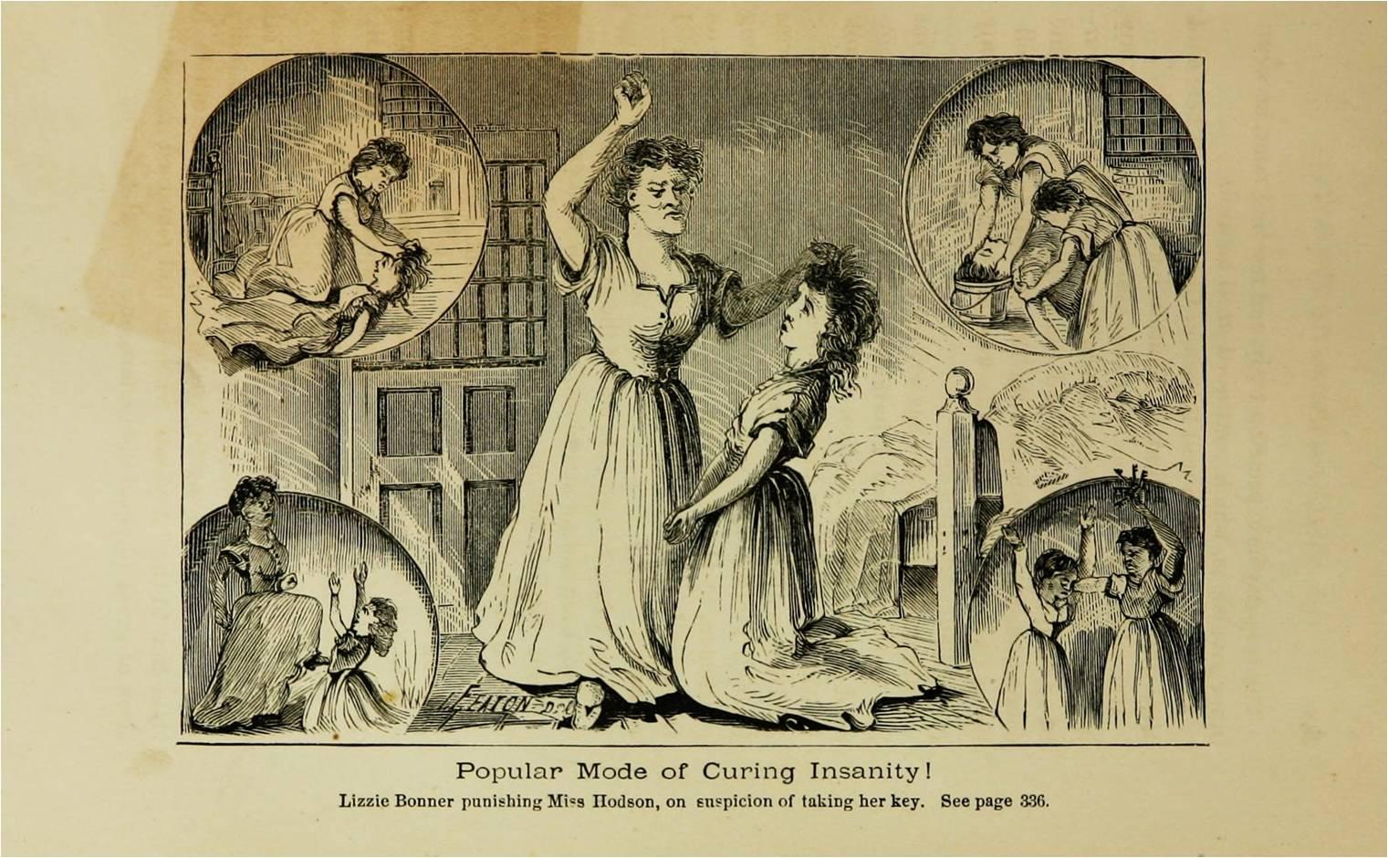 Punishment at the Jacksonville Asylum