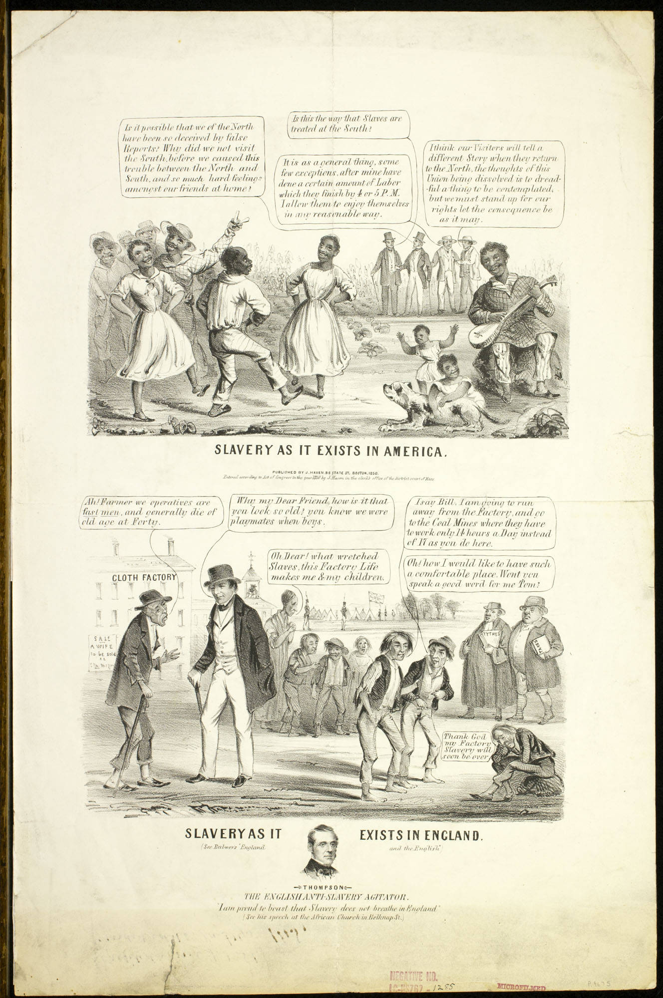 Slavery As It Exists In America