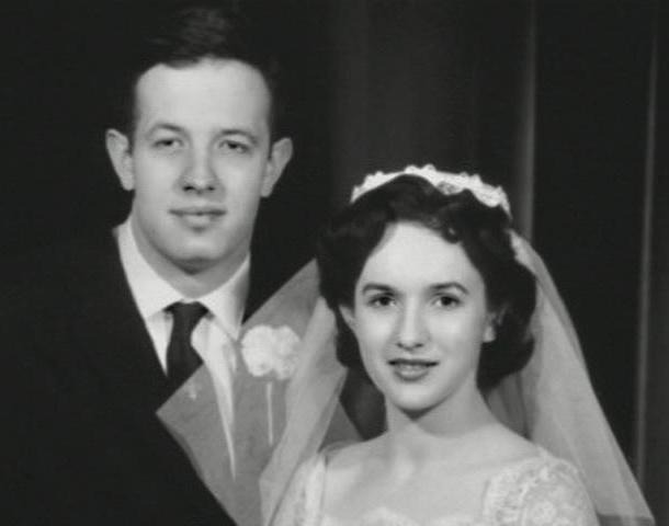 John and Alicia Nash  Wedding Photo