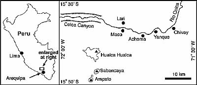 Sbancaya Located on Map