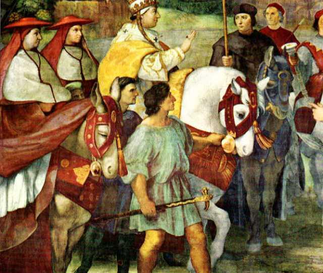 Pope Leo And Attila The Hun