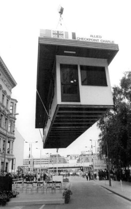 Checkpoint Charlie Dismantled in Berlin