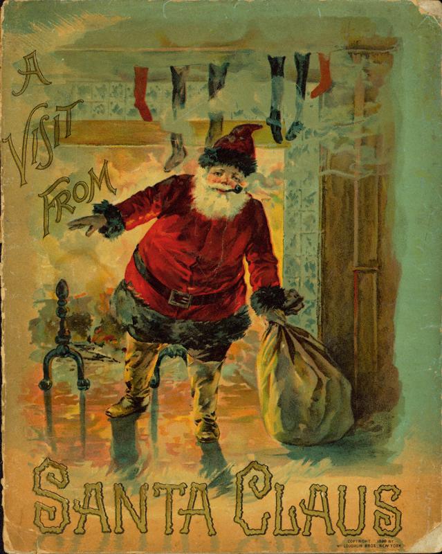 Santa Claus A VISIT FROM SAINT NICHOLAS