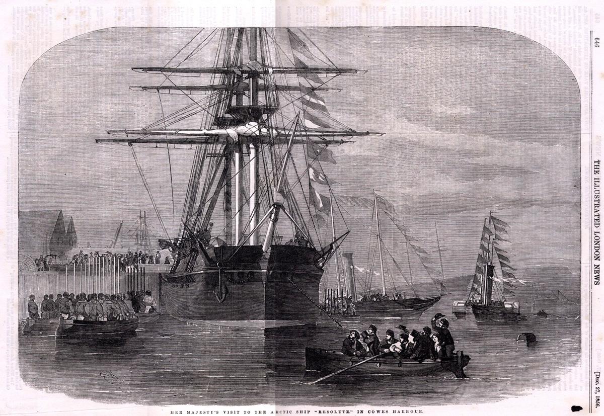 Miracle Ship  HMS Resolute