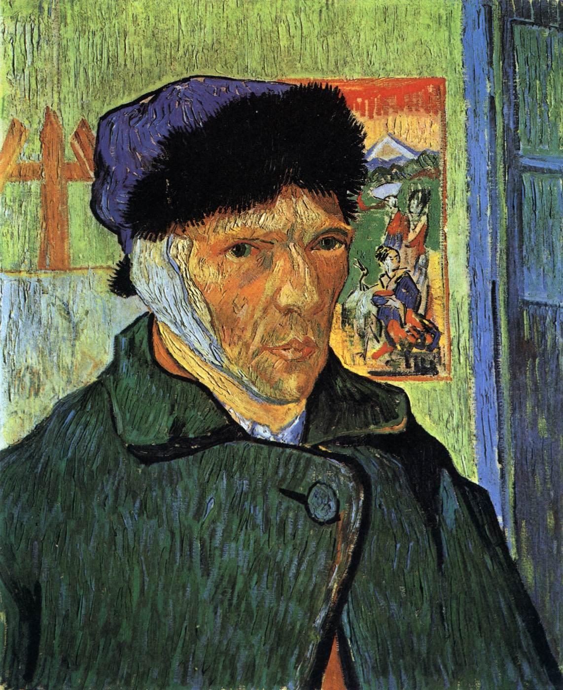 Vincent Van Gogh  THE BANDAGED EAR